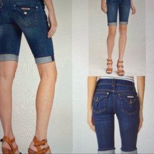 Hudson jeans Palermo Cuff Bermuda Shorts NWT